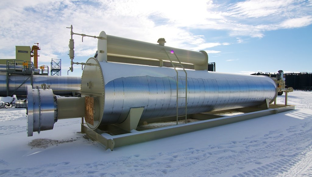 4 MM BTU Lineheater