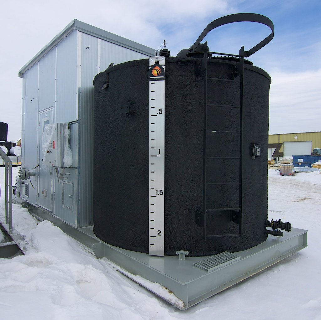 """16"""" Separator with 100bbl Double Wall Tank"""