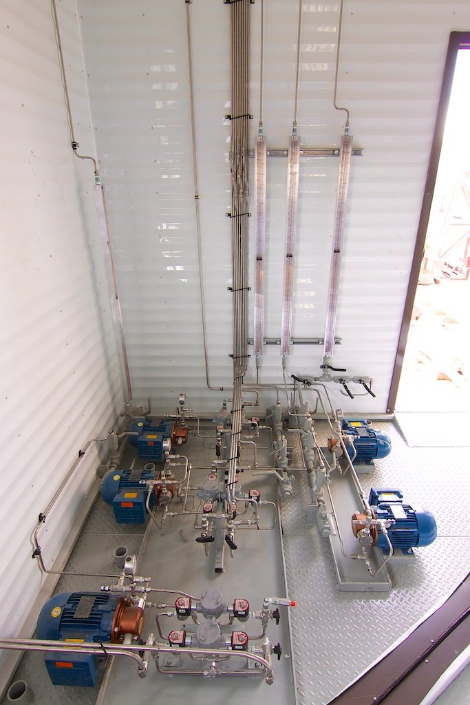 """48"""" Separator with 7 Well Header"""