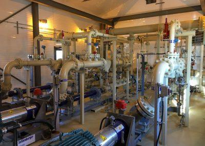 Frac Water Transfer Pump Package